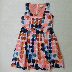 Michael Kors Fit and Flare Sleeveless Dress SZ 10